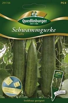 Quedlinburger Saatgut Schwammgurke Luffa