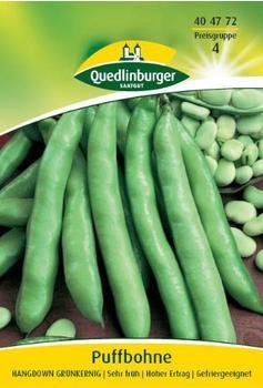 Quedlinburger Saatgut Puffbohne Hangdown Grünkernig