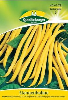 Quedlinburger Saatgut Stangenbohne Neckargold