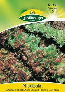 Quedlinburger Saatgut Pflücksalat Amerikanischer brauner (50g)