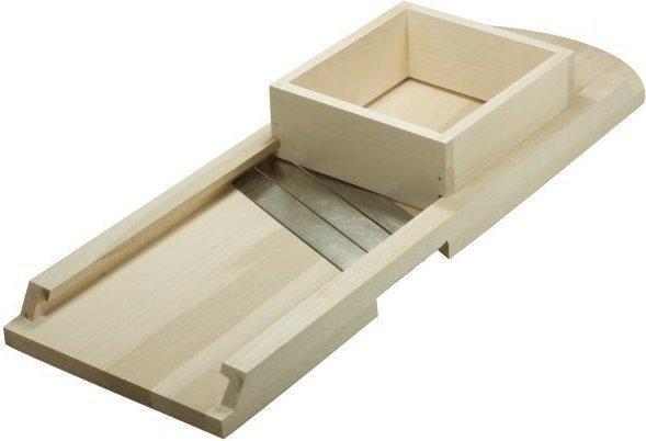 Hofmeister Holzwaren Krauthobel einfach mit 3 Messern 65 x 23,5 cm