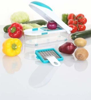 Culinario Zwiebel- & Gemüseschneider petrol