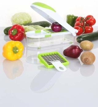 Culinario Zwiebel- & Gemüseschneider grün