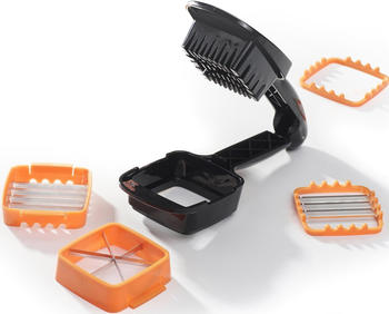 Genius Nicer Dicer Quick 5-teilig orange schwarz