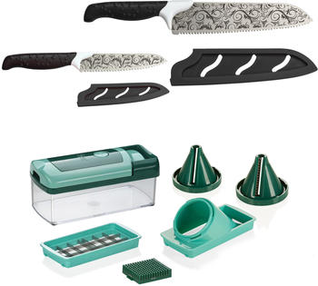 Genius Magic Cut (Set 10tlg.) | inkl. GRATIS Nicer Dicer Fusion smart