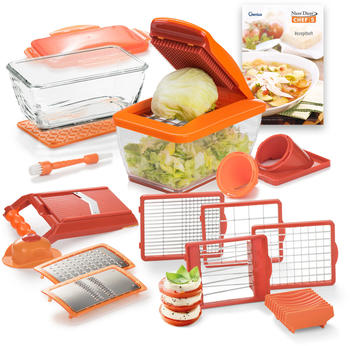 Genius Nicer Dicer Chef S Deluxe-Set 20tlg