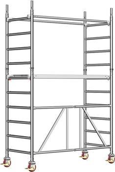 Layher Rollgerüst Zifa P2 Arbeitshöhe 3,65 m