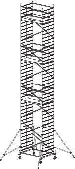 Krause ProTec XXL Fahrgerüst Alu (911209)