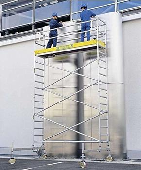 ZARGES LM-Fahrgerüst Fahrbalken Arbeitshöhe 4,65 m Z600 51224