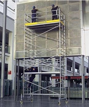 ZARGES LM-Fahrgerüst Fahrbalken Arbeitshöhe 12,50 m Z600