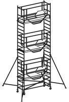 Hymer Advanced SAFE-T 709507 Komplettgerüst bis 7,14m Arbeitshöhe Modul 1+2+3)
