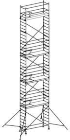 Hymer Fahrgerüst mit Ausleger 677111