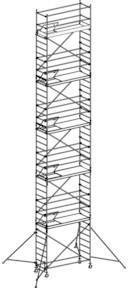 Hymer Fahrgerüst mit Ausleger 6371/12