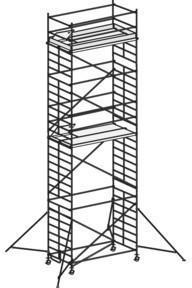 Hymer Fahrgerüst mit Ausleger 6773/09