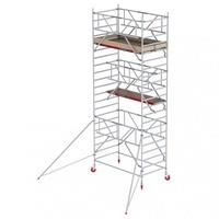 Altrex RS Tower 42-S Aluminium Safe-Quick mit Holz-Plattform 7,20m AH 1,35x1,85m