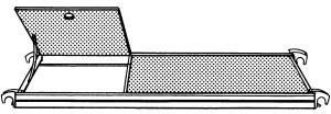 Hymer Bühne mit Durchstiegsklappe (617824)