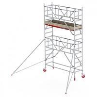 Altrex RS Tower 41-S Aluminium mit Safe-Quick und Holz-Plattform 5,20m AH 0,75x2,45m