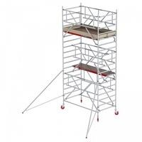 Altrex Fahrgerüst RS Tower 42-S Aluminium Safe-Quick mit Holz-Plattform 6,20m AH 1,35x1,85m