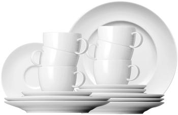 Thomas Sunny Day Kaffeeservice 18-tlg. weiß