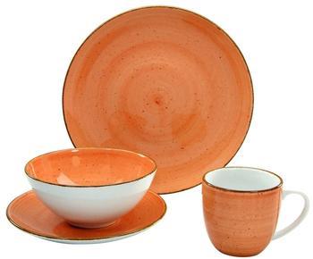 CreaTable Vintage Nature Single-Set 4-tlg. orange