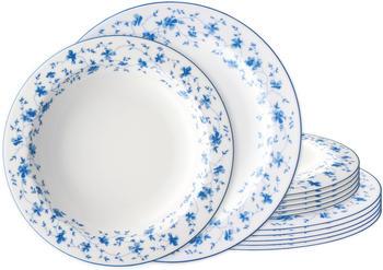 arzberg-form-1382-blaublueen-tafelservice-12tlg
