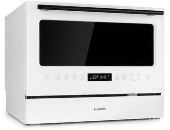 Klarstein Azuria Geschirrspülmaschine weiß