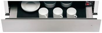 KitchenAid Wärmeschublade für 14er Nische silberfarben
