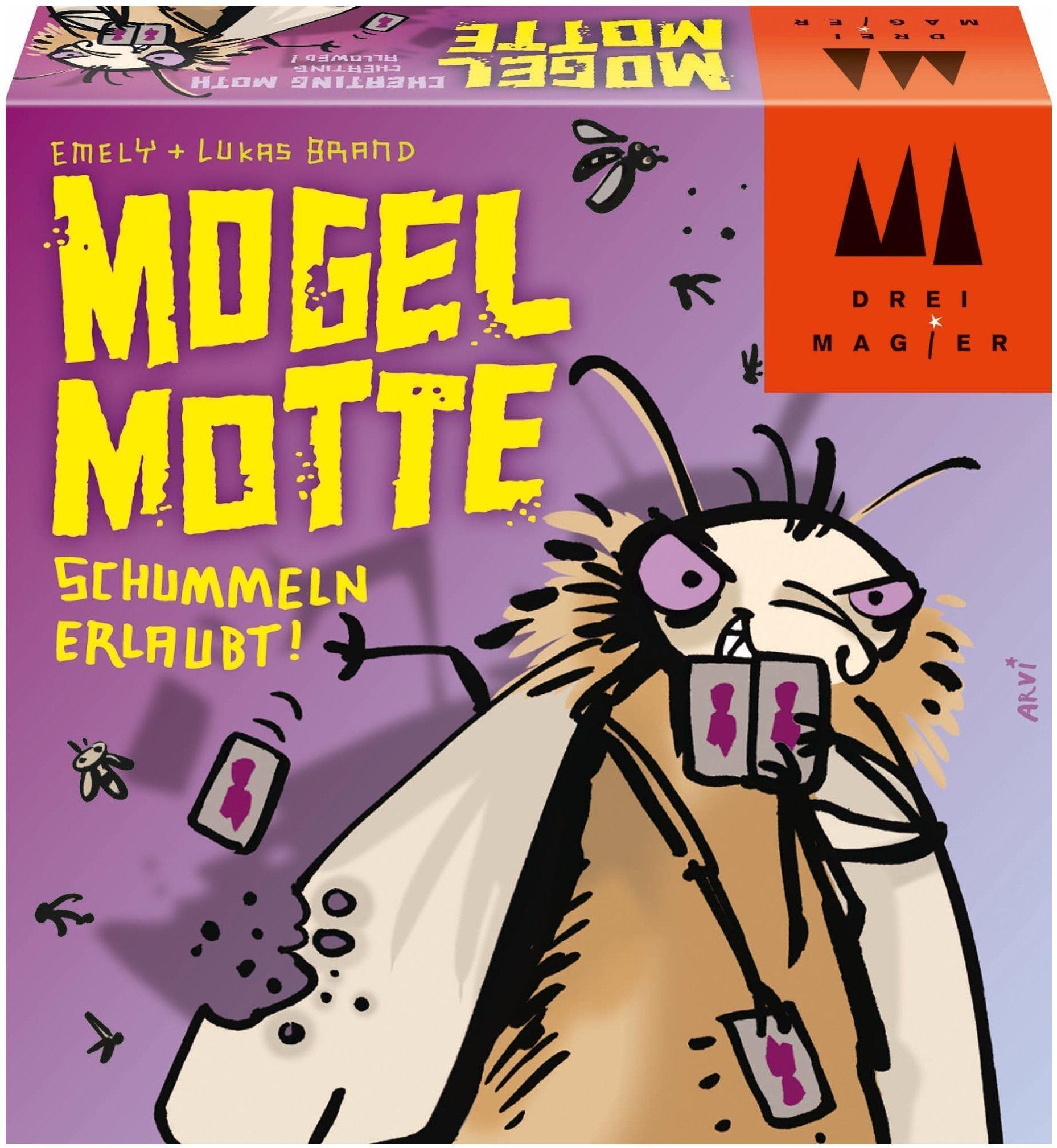 Spiele Drei Magier Kartenspiel Schmidt Spiele 40862 Mogel Motte