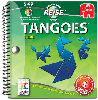 Jumbo Smartgames - Reisespiel Tangoes Tiere