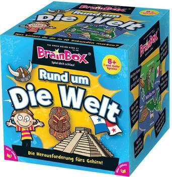 Green Board Games Brain Box Rund um die Welt