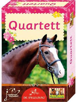 Die Spiegelburg Kartenspiel - Quartett Pferdefreunde