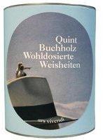 Ars Vivendi Quint Buchholz Wohldosierte Weisheiten Leben