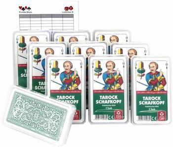 SKAT ASS Club Spielkarten Zwanzigerpaket von ASS im Set mit Ludomax Block