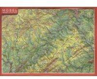 Georelief Gbr Reliefpostkarte Mosel