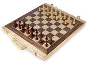 Legler Schach- und Backgammon-Koffer