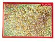 Georelief Gbr Reliefpostkarte Sauerland