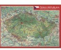 Georelief Gbr Reliefpostkarte Tschechien