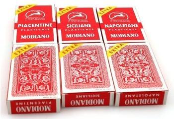 Ludomax Modiano italienische Spielkarten: Siciliane, Napoletane, Piacentine 6er Pack (331564)