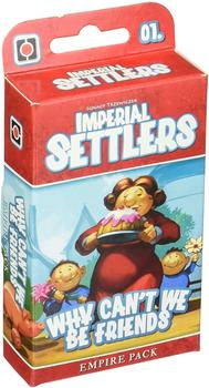 Wydawnictwo Portal Imperial Settlers: Why can't we be friends?