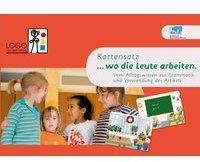 Logo Lern-Spiel-Verlag KonLab Kartensätze. Kartensatz ..wo die Leute arbeiten