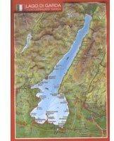 Georelief Gbr Reliefpostkarte Gardasee