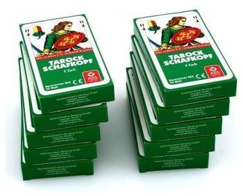 Ludomax Zehnerpaket TAROCKSCHAFKOPF Bayerisches Bild ASS Spielkarten