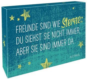 Groh Verlag Freunde sind wie Sterne: Du siehst sie nicht immer, aber sie sind immer da