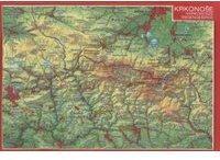 Georelief Gbr Reliefpostkarte Riesengebirge