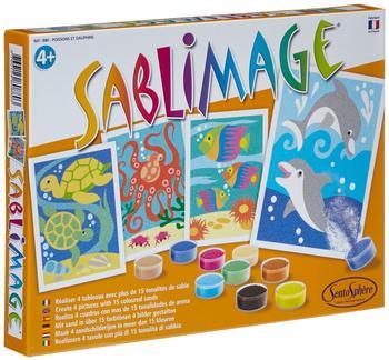 Sentosphère Sablimage - Sandbilder Fische und Delphine