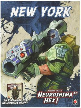 Portal Games Neuroshima Hex 3.0: New York (deutsch)