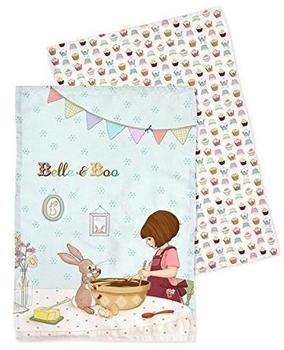 Oetinger Belle + Boo Küchentuch-Set