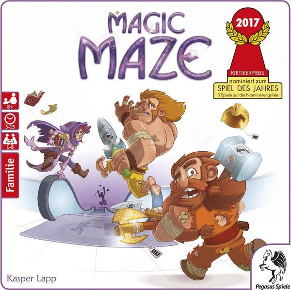 Pegasus Spiele Magic Maze (57200G)