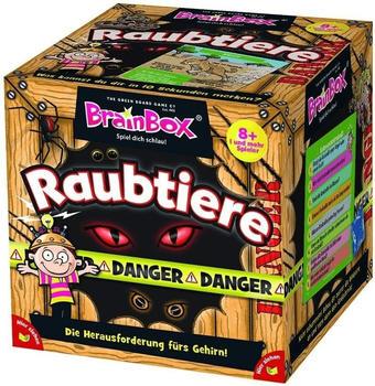 Green Board Games BrainBox Raubtiere