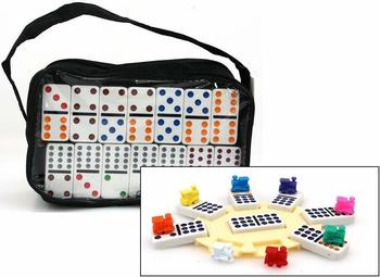 Ludomax Domino Mexican Train Doppel 12 (320226)